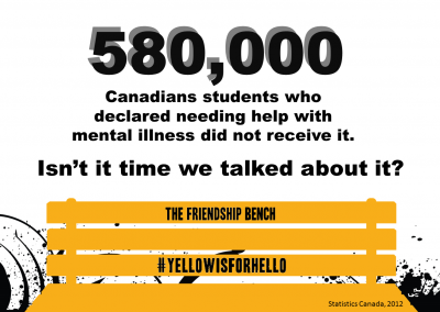 580000 Canadians - Friendship Bench