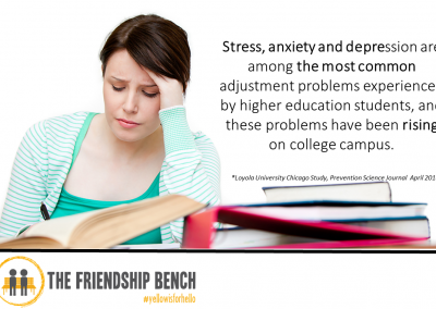 Stress Rising On College Campuses