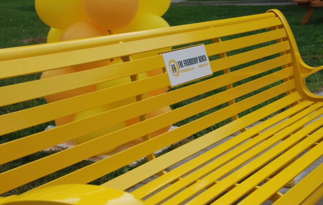 A Day to Remember as the First Friendship Bench is Unveiled