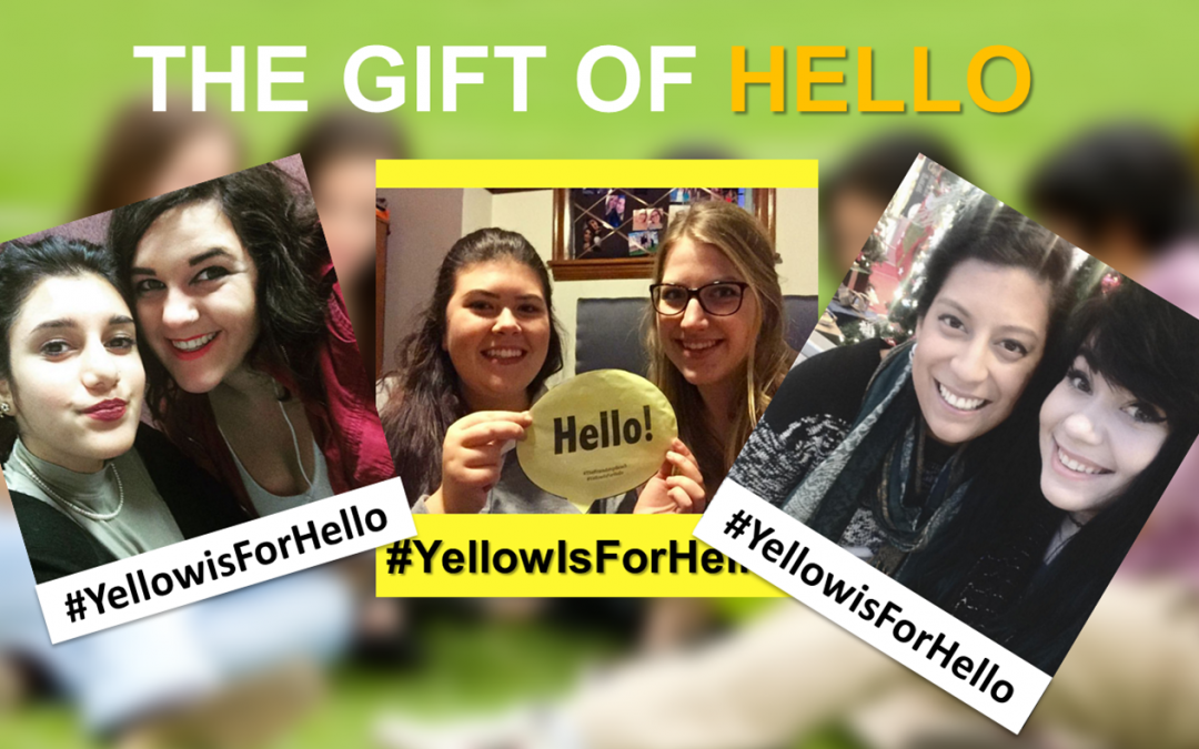Give The GIFT OF HELLO This Holiday Season