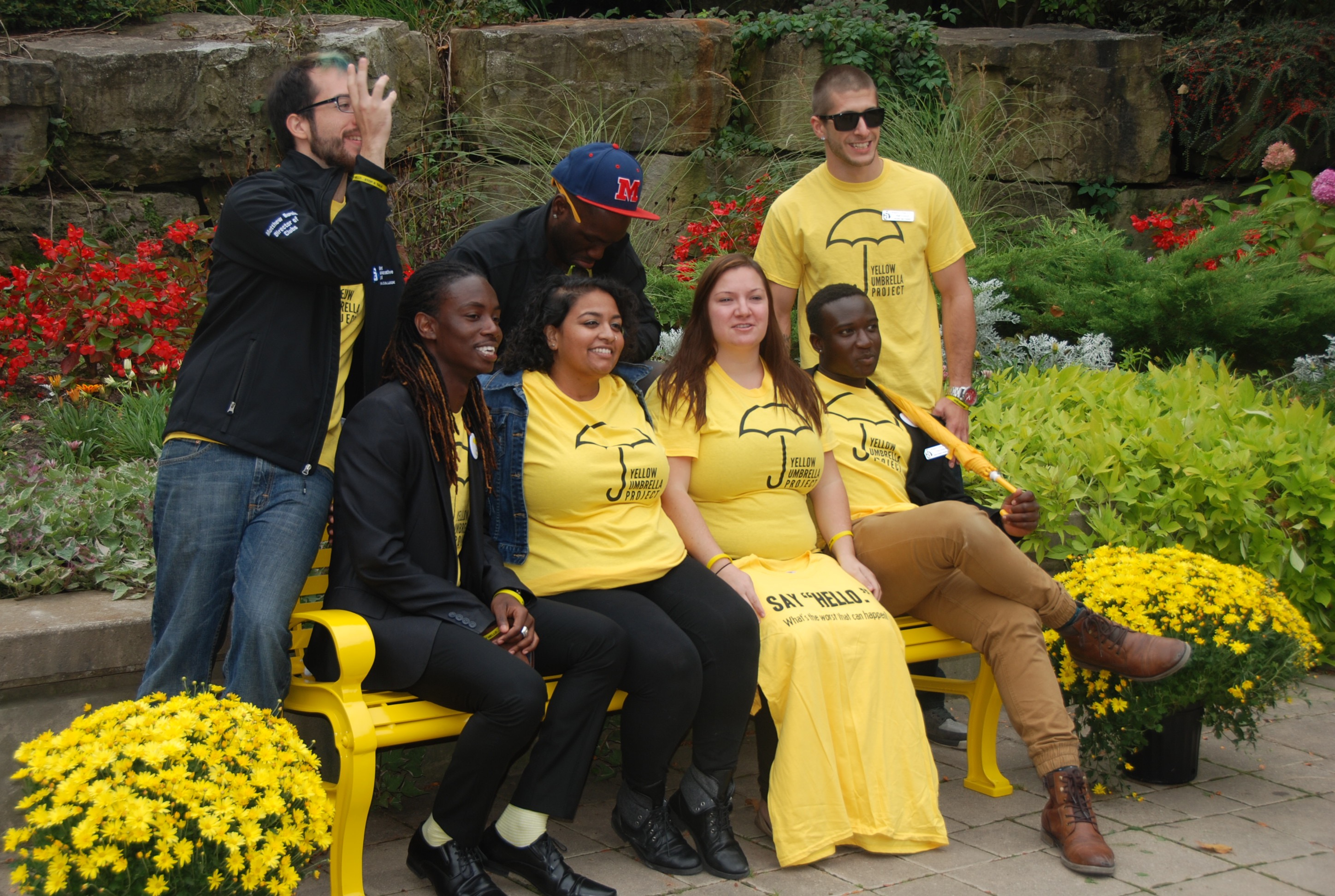 #YellowIsForHello | The Friendship Bench | Niagara College