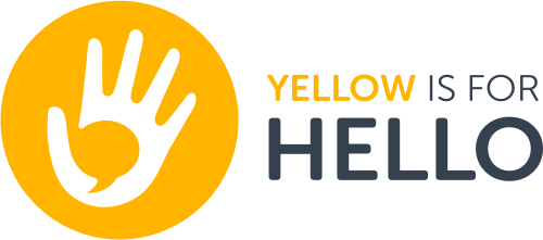 Yellow is for Hello newsletter