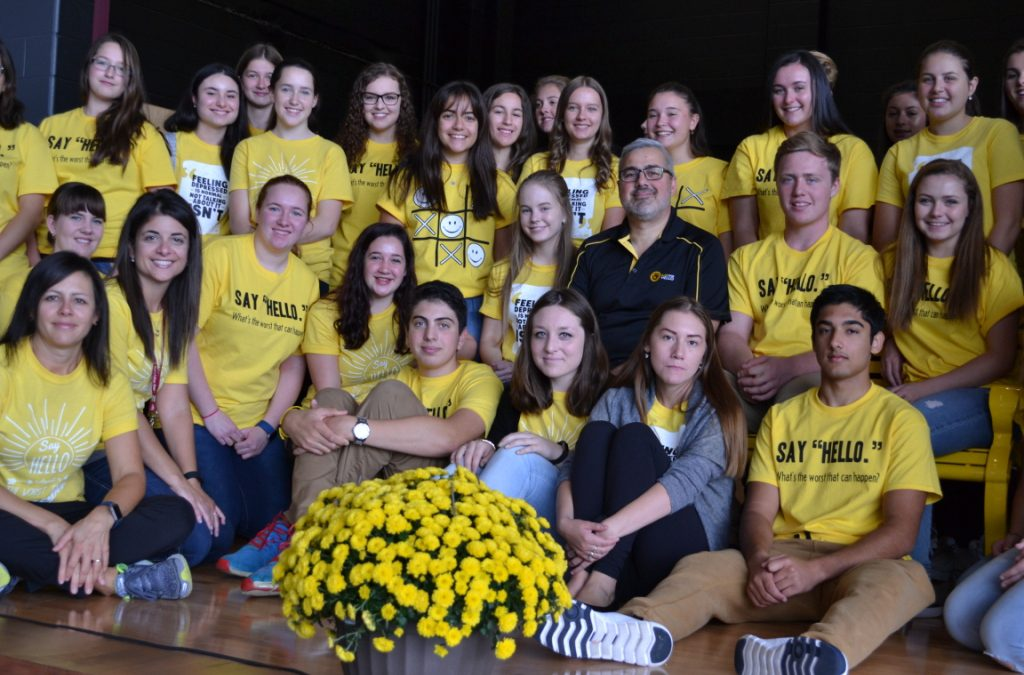 Northern Ontario High School Unveils The Friendship Bench