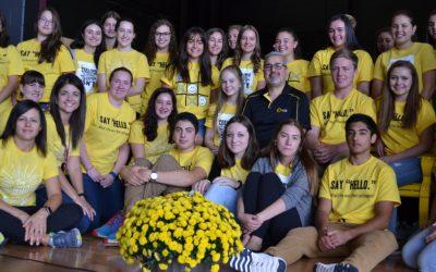 Northern Ontario High School Unveils The Friendship Bench