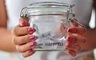 Happiness Jar Fosters Positive Mental Health Habits