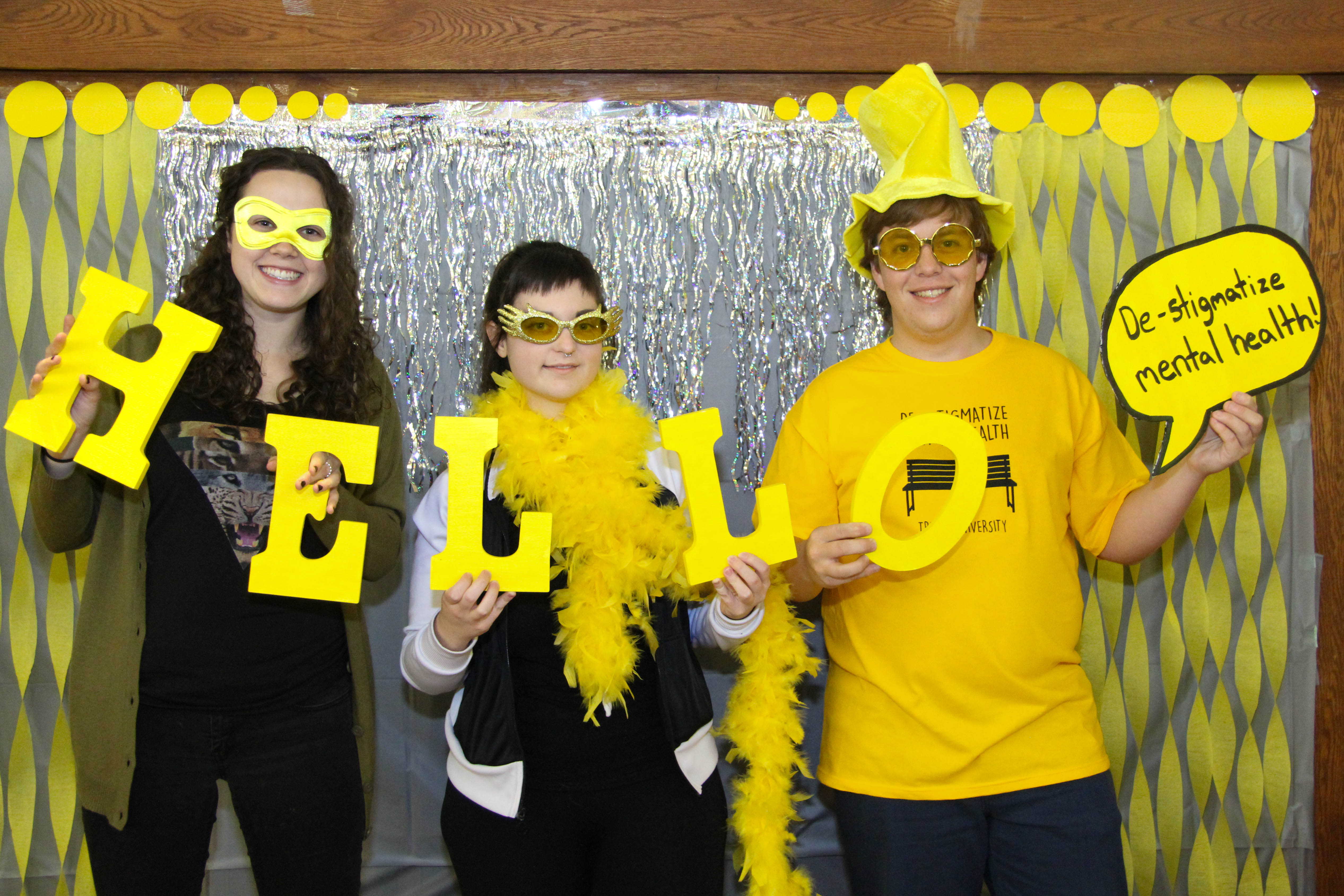#YellowIsForHello The Friendship Bench Trent University