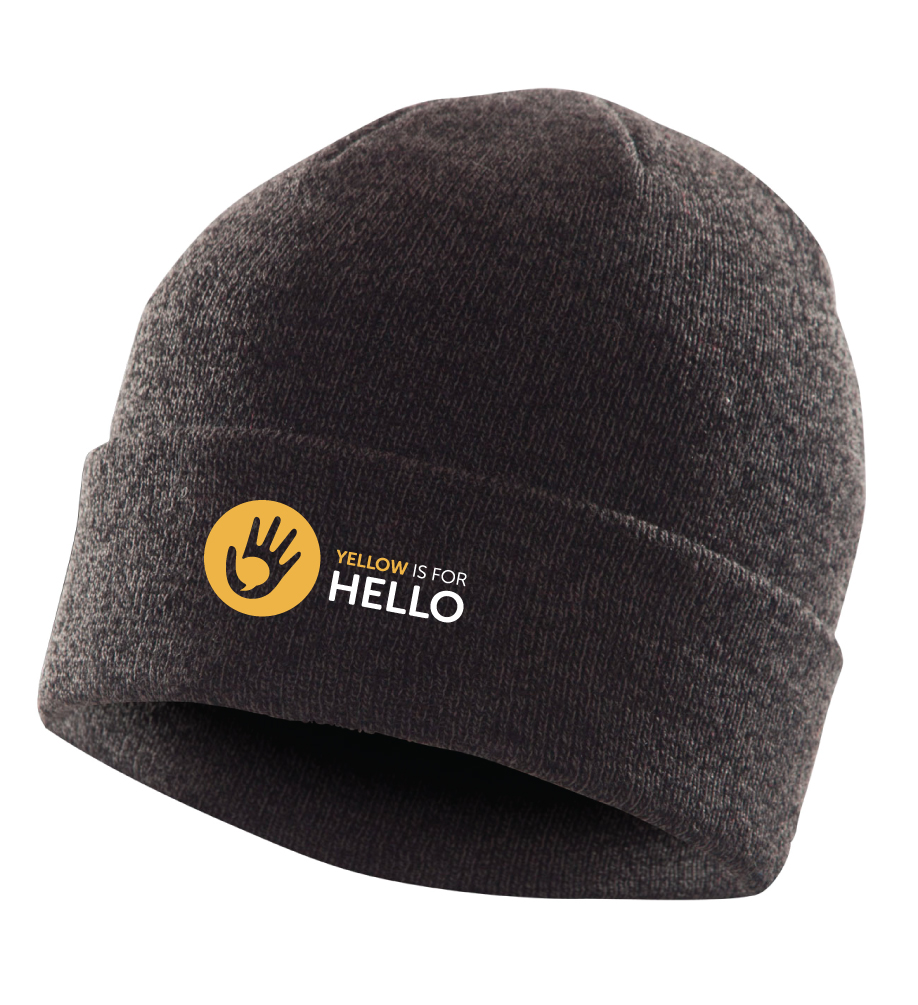 Yellow is for Hello tuque
