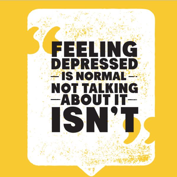 Feeling depressed is OK tee