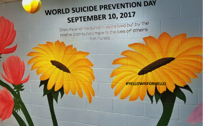 The Friendship Bench and World Suicide Prevention Day 2017