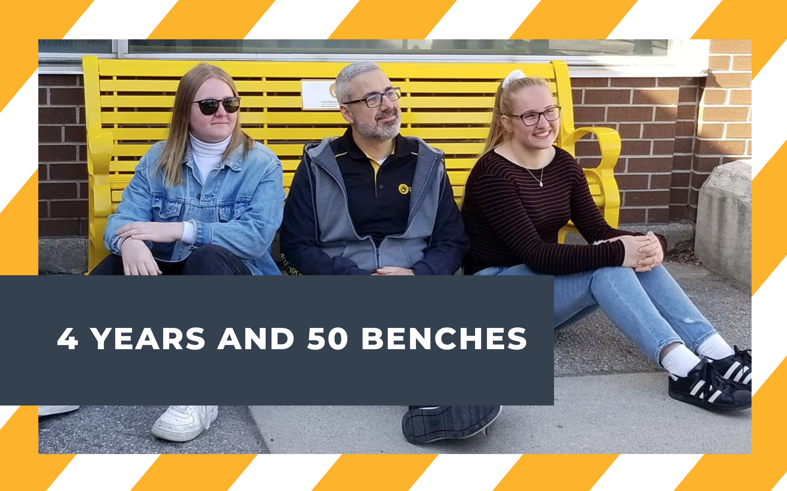 4 Years and 50 Benches – The Past, Present, and Future for The Friendship Bench