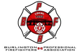 The Burlington Professional Firefighters Association, IAFF L1552